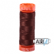 Aurifil 50 Cotton Thread - 2360 (Chocolate)